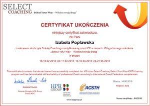 Certyfikat Coach ICF (International Coach Federation)
